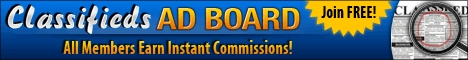 Classifieds Ad Board free web site traffic and promotion